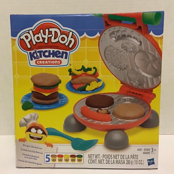 Play-Doh Other - Play-Doh: Kitchen Creations Burger Barbecue Set